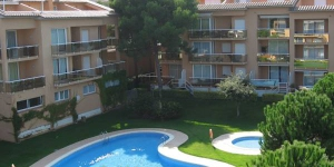 Located in Pals, Apartment Puig Sa Guilla Playa De Pals II offers outdoor pool. The property is 1.