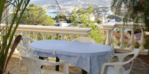 Apartment Alajarin II is a self-catering accommodation located in Colera. Complete with a microwave, the dining area also has an oven and a refrigerator.