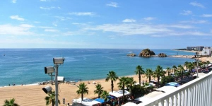 Aiguaneu Apartaments Center is set within 250 metres of the beach, at different locations in Blanes on the Costa Brava. Spacious, bright apartments are decorated beautifully.