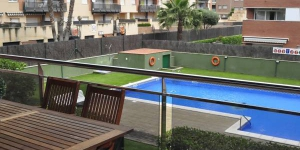 Located in Lloret de Mar, Apartment Fenals central Park offers an outdoor pool. The property is 3 km from Water World and 600 metres from Fenals Beach.