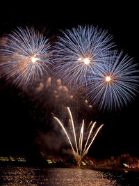 Fireworks Festival Blanes, during july