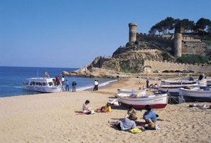 Lloret de Mar Beach